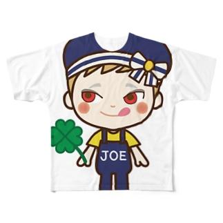 JOEさん Full graphic T-shirts