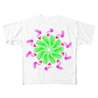 バード Full graphic T-shirts