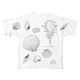 SHELL Full graphic T-shirts