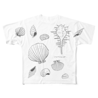 anco.のSHELL Full graphic T-shirts