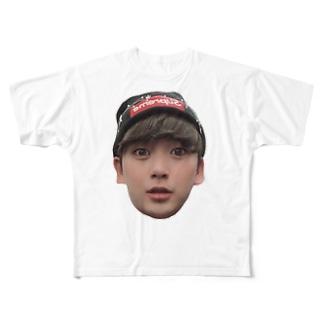 のぶちゃんぐっつ Full graphic T-shirts