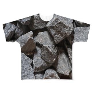 サウナストーン Full graphic T-shirts