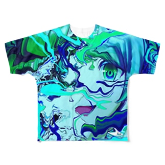 (^◇^) Full graphic T-shirts