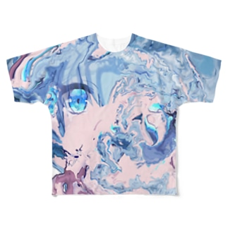 (╹◡╹)(^.^) Full graphic T-shirts