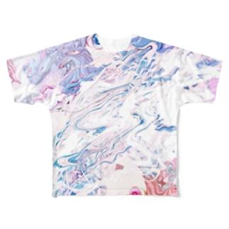 (^^)(o^^o) Full graphic T-shirts