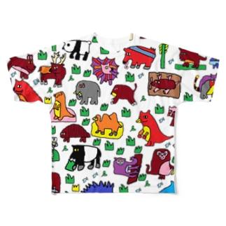 yunimal's ZOO Full graphic T-shirts