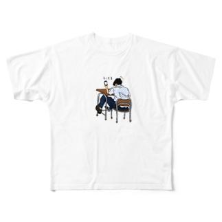 うける Full graphic T-shirts