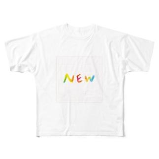 NEWグッズです Full graphic T-shirts