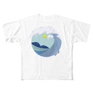 グリーンルーム Full graphic T-shirts