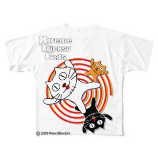 ネコ兄弟 tXTC_01 Full graphic T-shirts