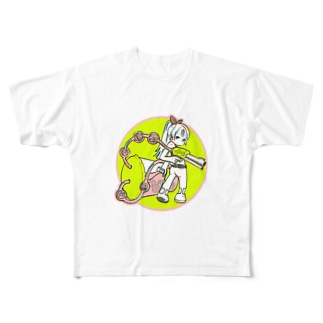 タピオカバスターズ長女 Full graphic T-shirts