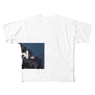 病人Tシャツ Full graphic T-shirts