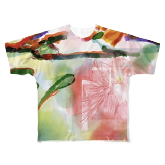 Flowers in OZE Full graphic T-shirts