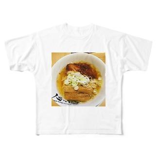 麺命 Full graphic T-shirts