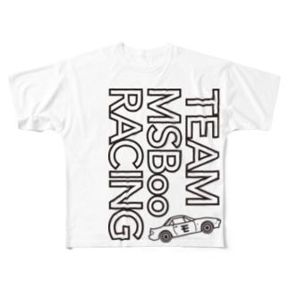 TEAM モタスポ部 RACING Full graphic T-shirts