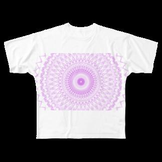 Miracke Happy Bareのスピリチュアルの世界 Full graphic T-shirts