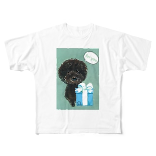 ギフトヒュー Full graphic T-shirts