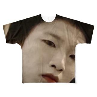 バカ殿 Full graphic T-shirts