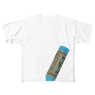 くれよん Full graphic T-shirts