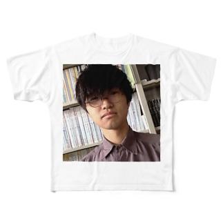 ハカセくん Full graphic T-shirts