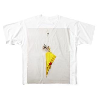 暗くなる前に帰っておいで。 Full graphic T-shirts