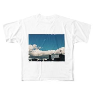 夏が始まる Full graphic T-shirts