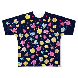 fresh summer party! Full graphic T-shirts