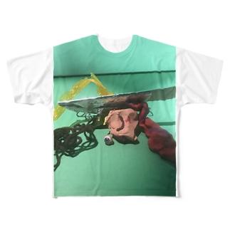 残骸 Full graphic T-shirts
