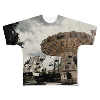 空中ブランコ Full graphic T-shirts