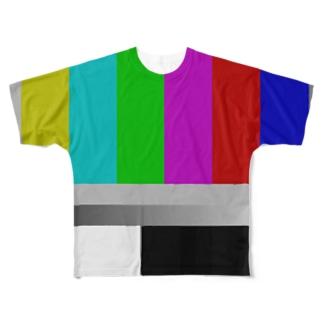 FAMIlIA 『カラーバー』Tシャツ Full graphic T-shirts