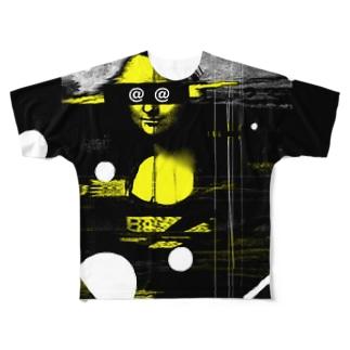 @モナリザ@ Full graphic T-shirts