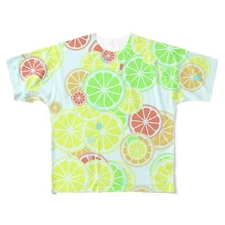 Fruits(Soda) フルグラフィックTシャツ