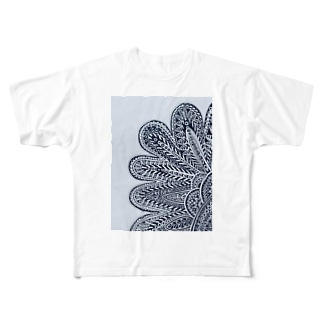 FLOWER OF EARTH Full graphic T-shirts