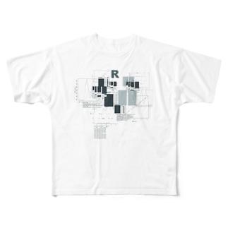 R Full graphic T-shirts