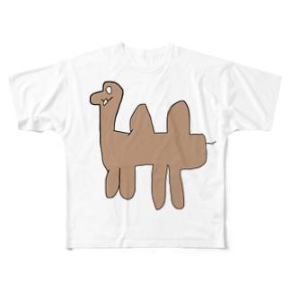 ラクダくん Full graphic T-shirts