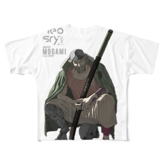neosry2097-CAPTAIN MOGAMI a.t.c EUTOP- Full graphic T-shirts