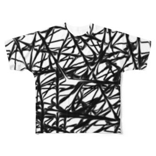 替え玉 Full graphic T-shirts