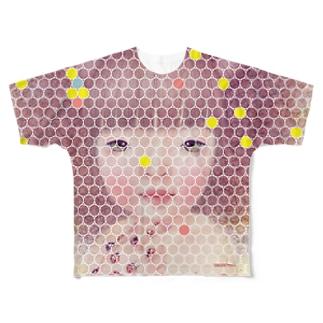 ゆめのなかのやくそく Full graphic T-shirts