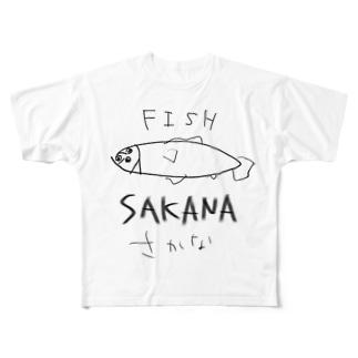 サカシナクョン Full graphic T-shirts