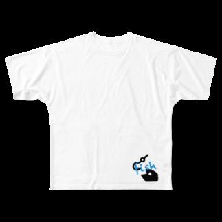 animalsのfish Full graphic T-shirts
