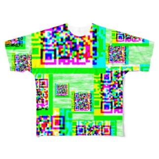 QR Full graphic T-shirts