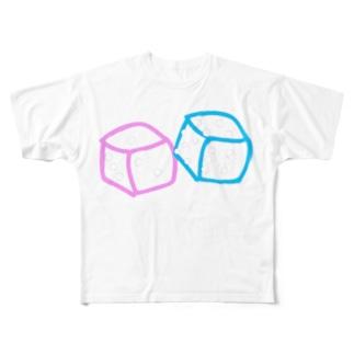 かくれた気持ち。 Full graphic T-shirts