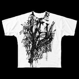 NEROGROのうるせえ Full graphic T-shirts