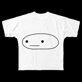kamotanのまるい何か Full graphic T-shirts