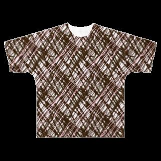 AmanoLokiの例のチョコ Full graphic T-shirts