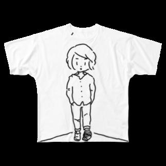 のりま屋のふと思った時シリーズ Full graphic T-shirts