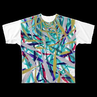 音楽工房田中(YouTuber,Music,Healing)の星から降りてきた彼。。。 Full graphic T-shirts