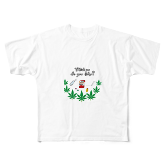 chamannuのB-boy🔞ラッパー好き(chill) Full graphic T-shirts