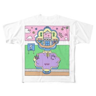 Skate park Full graphic T-shirts