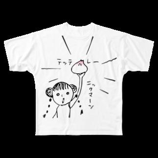 nicospyderのニックマーン Full graphic T-shirts